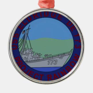 USS ELDRIDGE PROJECT RAINBOW PHILADELPHIA EXPERent Christmas Ornament