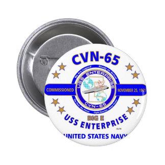 USS ENTERPRISE CVN-65  NAVY CARRIER PIN