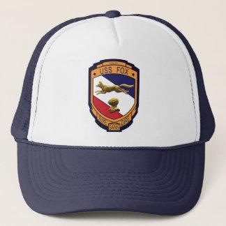 USS Fox (CG-33) Trucker Hat (Multi-Colors)
