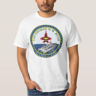USS George H W Bush T Shirts