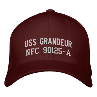 USS Grandeur, NFC 90125-A Embroidered Baseball Caps