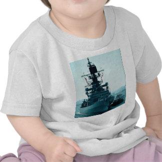 "USS Gridley"" coast guard cruiser prepares to dock T Shirts"