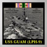 USS GUAM (LPH-9) POSTER