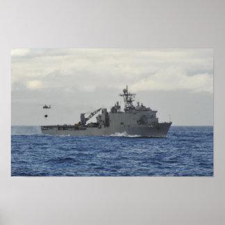 USS Gunston Hall (LSD 44) Poster