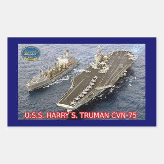 USS Harry S. Truman CVN-75 Sticker