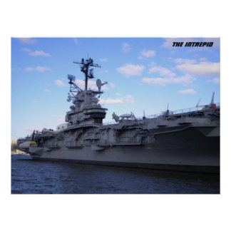 USS Intrepid poster