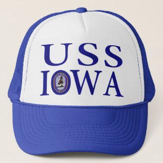USS Iowa Hats