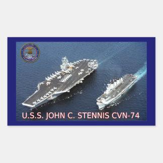 USS John C Stennis CVN-74 Sticker