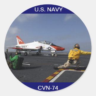 USS John C Stennis Flightdeck Sticker