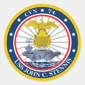 USS John Stennis sticker