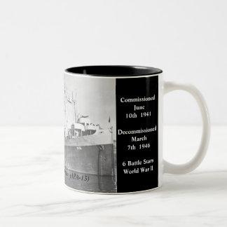USS Joseph T Dickman APA-13 Coffee Mug