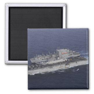 USS Kearsarge Square Magnet