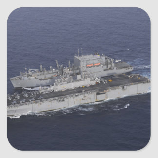 USS Kearsarge Square Sticker