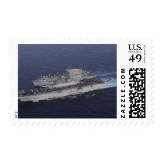 USS Kearsarge Stamps
