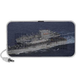 USS Kearsarge Travelling Speakers
