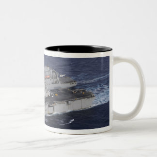 USS Kearsarge Two-Tone Mug