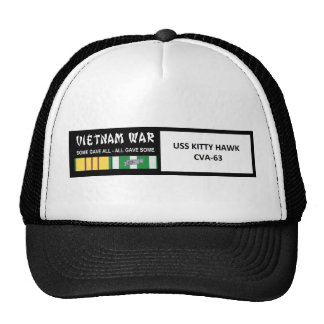 USS KITTY HAWK VIETNAM WAR VETERAN CAP
