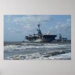 USS Lexington Poster