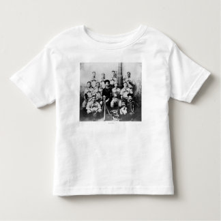 USS Maine Baseball Team in Havana Cuba Photograp Toddler T-Shirt