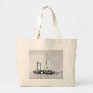 USS Maratanza, 1862 Jumbo Tote Bag