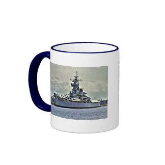 USS New Jersey Ringer Mug