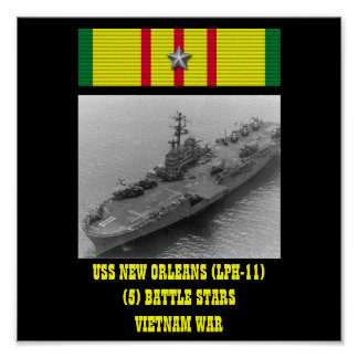USS NEW ORLEANS (LPH-11) POSTER