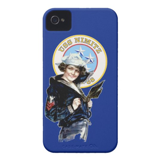 USS Nimitz CVN-68 Case-Mate iPhone 4 Case