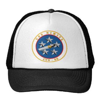 USS Nimitz - CVN 68 Mesh Hat