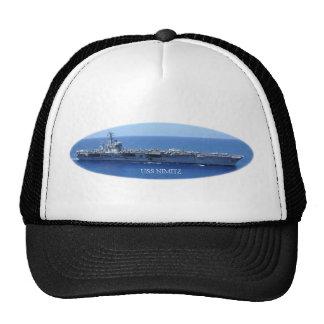 USS Nimitz Mesh Hat