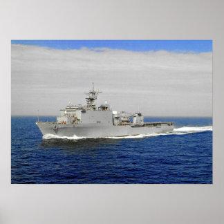 USS Oak Hill (LSD 51) Poster