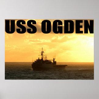 USS OGDEN POSTER
