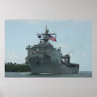 USS Pearl Harbor (LSD 52) Poster