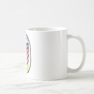 USS Ranger (CV-61) Basic White Mug