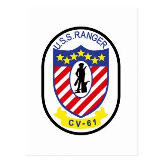 USS Ranger (CV-61) Postcard
