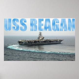 USS Ronald Reagan Poster