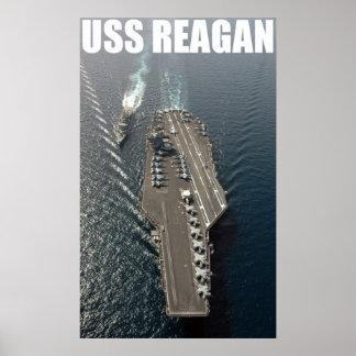 USS Ronald Reagan Print