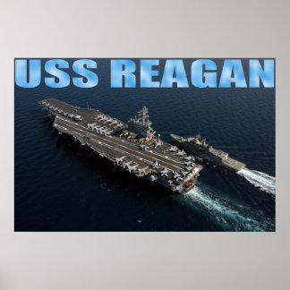 USS Ronald Reagan Posters
