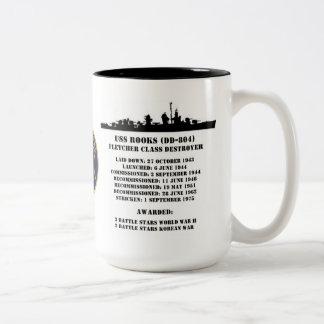 USS Rooks (DD-804) Mugs