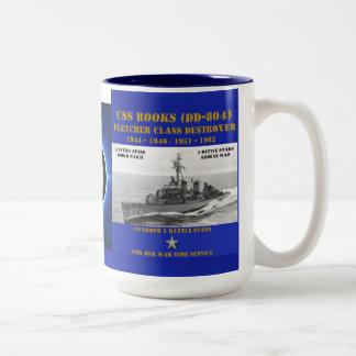 USS Rooks (DD-804) Coffee Mugs