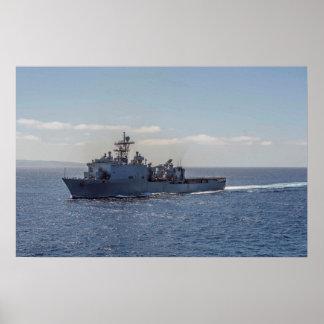 USS Rushmore (LSD 47) Poster