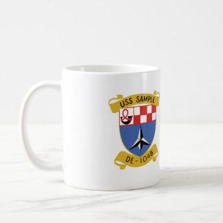 USS SAMPLE cup