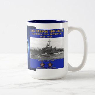 USS Strong (DD-467) Coffee Mugs