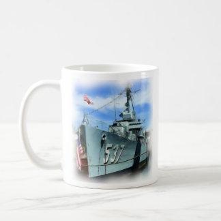 USS The Sullivans (DD-537) Basic White Mug