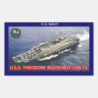 USS Theodore Roosevelt CVN-71 Sticker