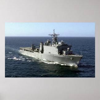USS Tortuga (LSD 46) Poster