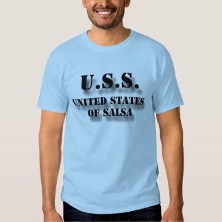 USS United States of Salsa Tee Shirt