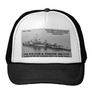 USS William D. Porter (DD-579) Hats