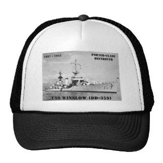 USS Winslow (DD-359) Trucker Hat