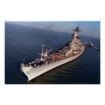 USS Wisconsin (BB-64) Posters