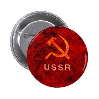 USSR 6 CM ROUND BADGE